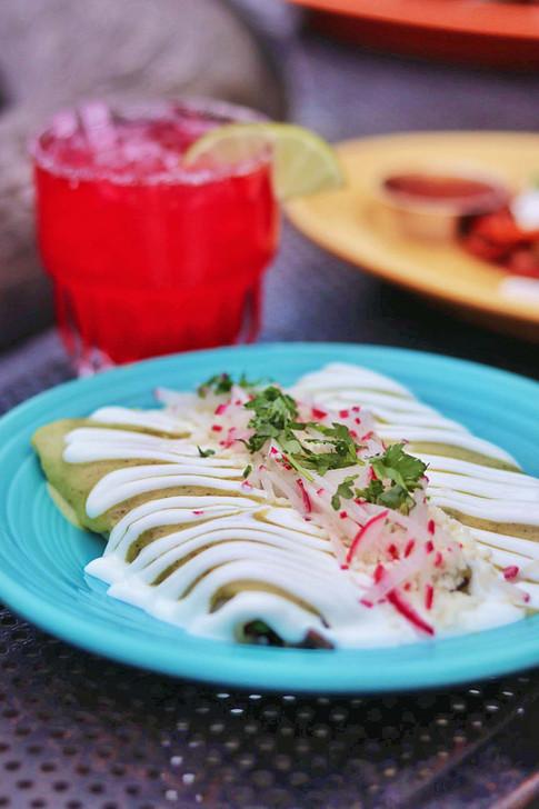 Agua Verde Cafe - Wild Flower Margarita