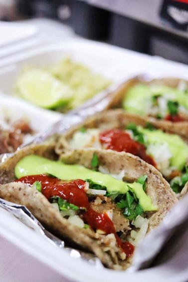 Agua Verde Cafe - Pork Carnitas Tacos -