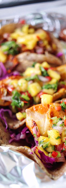 Agua Verde Cafe - Rockfish Tacos - Food