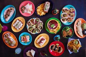Agua Verde Cafe - Spread - New - Plates.