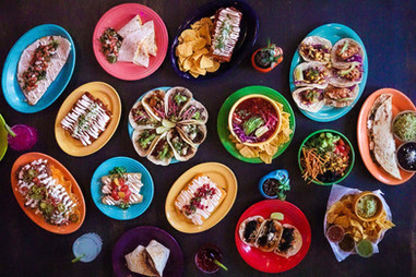 Agua Verde Cafe - Spread - New - Plates.