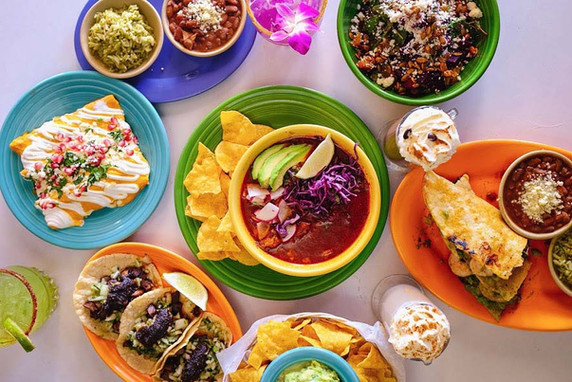 Spread - Mexican Food - Agua Verde Cafe.
