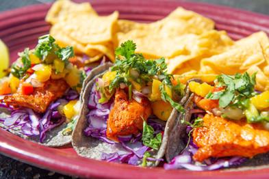 Rockfish Tacos - Corn Tortilla - Agua Ve