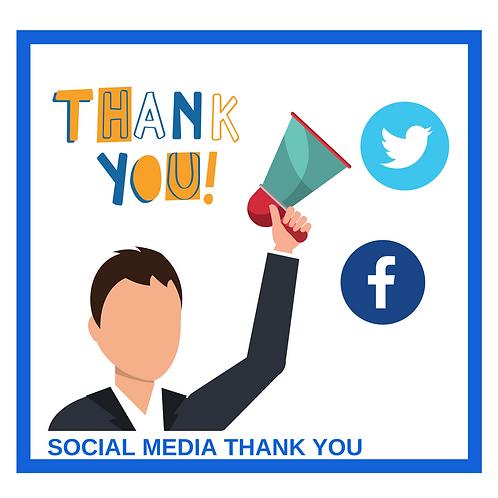 Social Media Thank You Premium