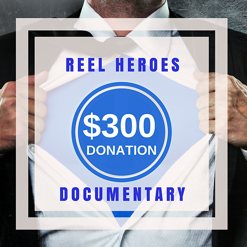 $300.00 Donation to the Film Finishing Fund (not tax deductible)