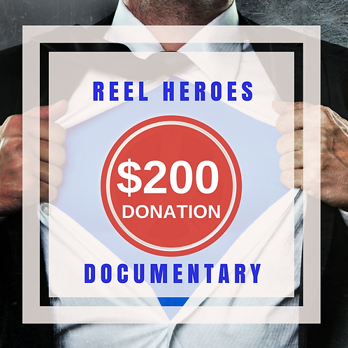 $200.00 Donation to the Film Finishing Fund (not tax deductible)