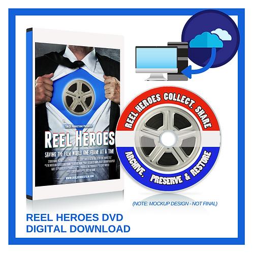Reel Heroes DVD & Digital Download Premium