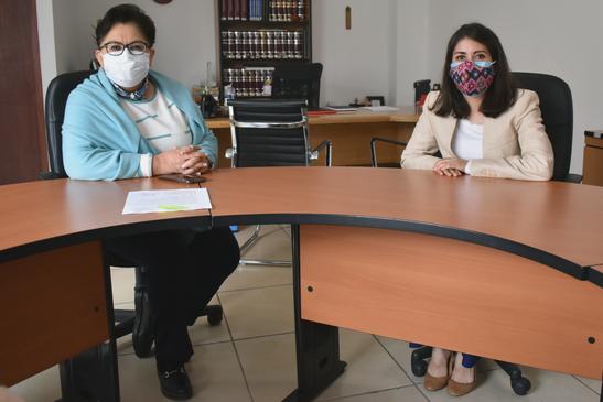 Reunión con la Dra. Roxana Ávalos, Presidenta de la Defensoría de Derechos Humanos del estado de Querétaro.