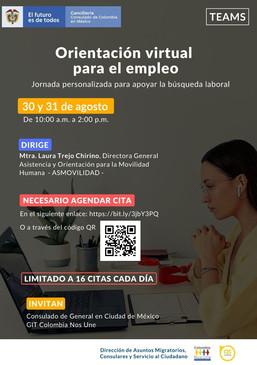 Orientación virtual para el empleo