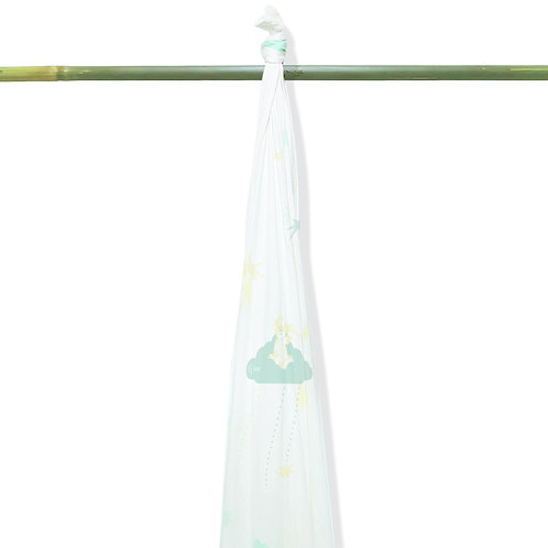 Grow Bamboo Swaddle - Starry Forest