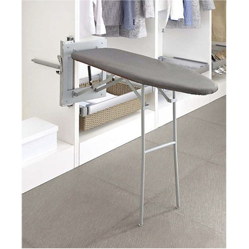 Floor type ironing board