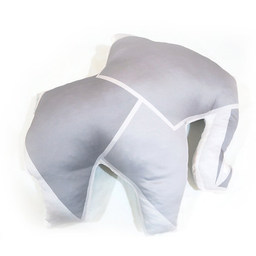 Grow Decor Pillow - Baby Bijoux Collection, Daddy Elephant