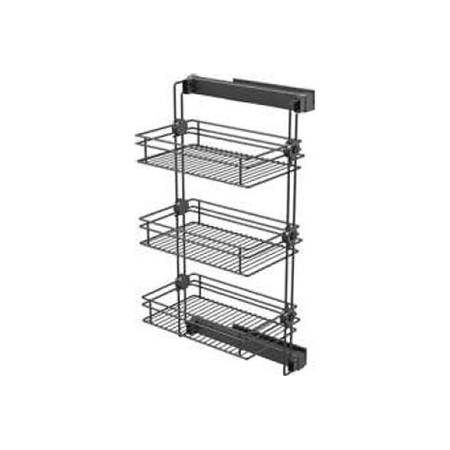 Side mounted storage rack