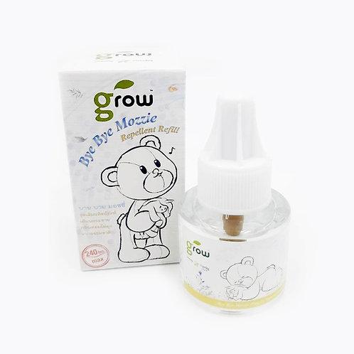 GROW BYE BYE MOZZIE Repellent Refill ชุดเติมผลิตภัณฑ์เสียบกระจายกลิ่นหอมไล่ยุงจา