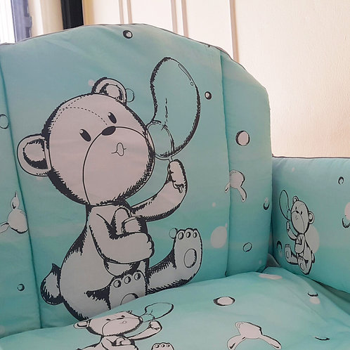 Grow Curve Bumper Set - Grow Original Character Collection - Bubble Bear