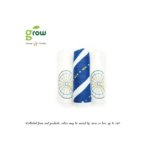 Grow Wash Cloth - Royal Blue paris