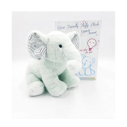 Grow fluff friends the elephant ตุ๊กตาช้าง  มีเสียง มีไฟในตัว