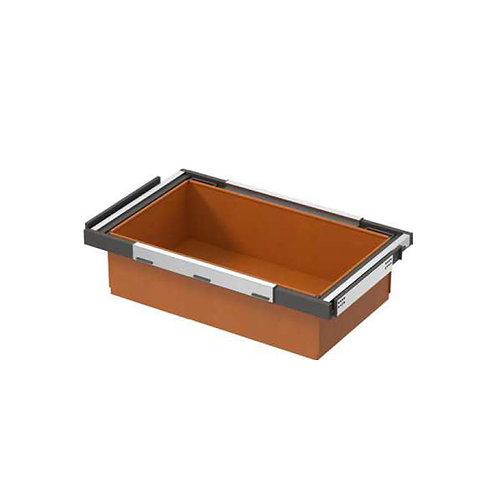 High end leather storage box