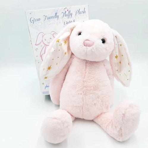 Grow fluff friends the rabbit -ตุ๊กตากระต่าย มีเสียง มีไฟในตัว
