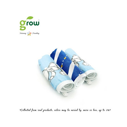 Grow Wash Cloth - Crystal Blue bear