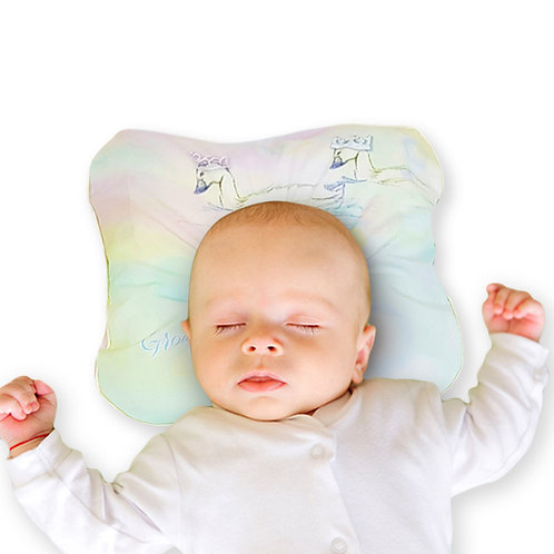 Grow Stage 1 Baby Pillow - Swan Dream Collection