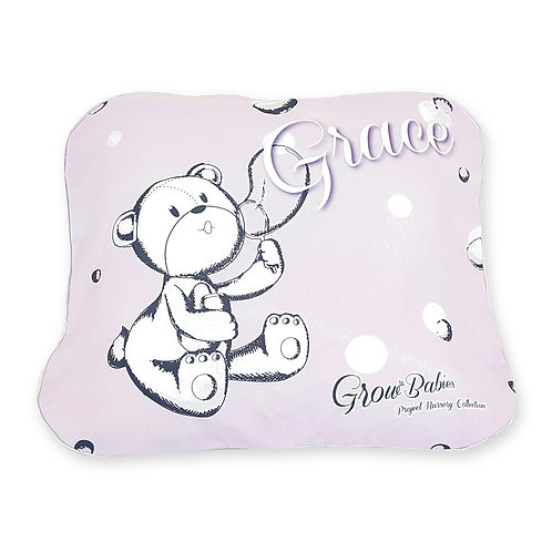 Grow Stage 1 Baby Pillow - Grow Original Character Collection - Pink Bearboo