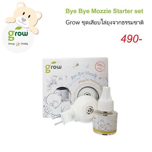 GROW Starter Set-BYE BYE MOZZIE Natural Repellent Plug-In