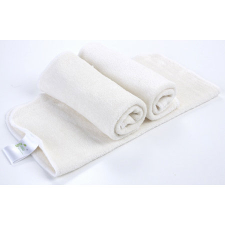 Organic Bamboo baby Face Towel-pack of 3