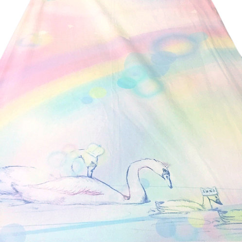 Grow Mattress Cover - Swan Dream Collection