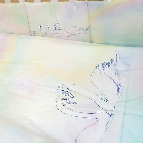 Grow Bedding Set - Swan Dream Collection