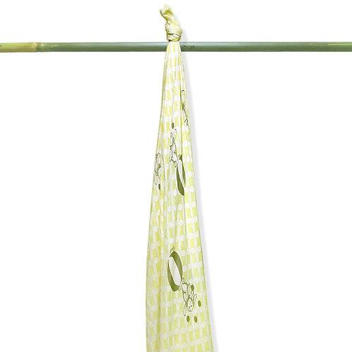 Grow-bamboo muslin swaddle-Fantacy Circus
