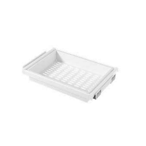 Pull out metallic basket -WH