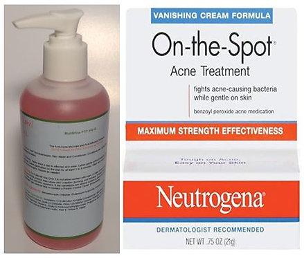 MutiNfine PTP 440Θ/ Neutrogena On-the-Spot Acne Treatment (2 Piece Set)