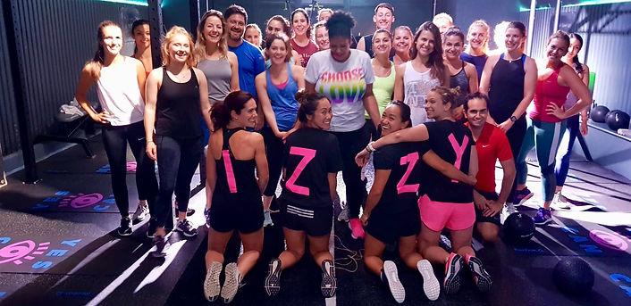 izzys 40th ministry of sound fitness
