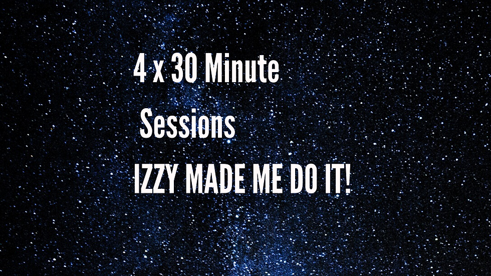 4 x 30 minute sessions for Students & NHS