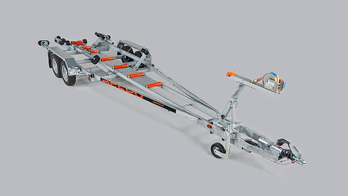 Båttrailer för 1473 kg båt, hyra