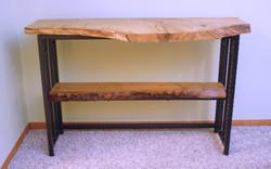 Pin Oak Sofa Table