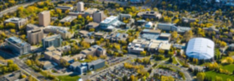 University of Alberta Aerial Photo