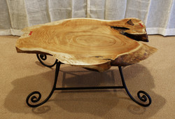 Cork Oak Coffee Table without Glass