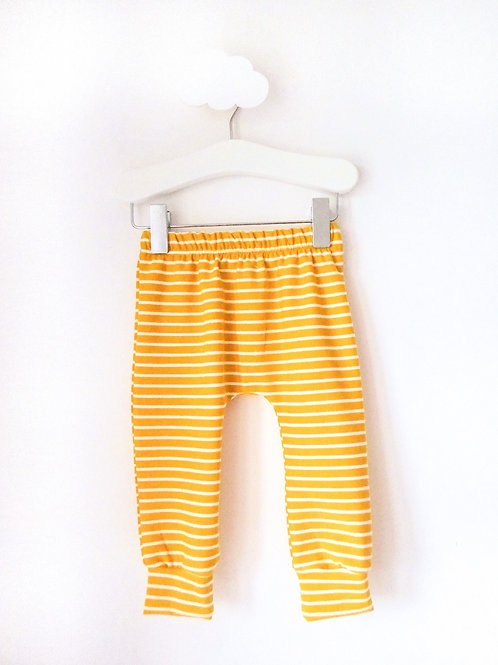 Yellow Stripes - Leggings