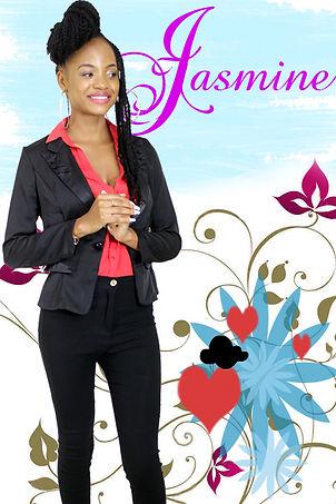 """Jasmine: personnage secondaire de la série """"Aissa"""" joué par Armelle Nikiéma"""
