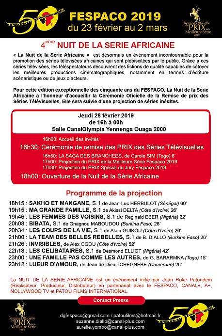 La nuitde la série africaine FESPACO 2019 2019.png