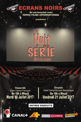affiche nuit de la serie 2017 ecran noir
