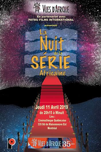 La nuit a Série Africaine Vues d'Afrique 2019
