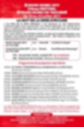 flyer Verso Ecran Noir 2017