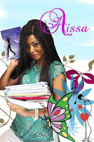 """Aissa: personnage principal de la série """"Aissa"""" joué par Senzaa Brown"""