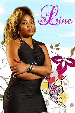 """Line: personnage secondaire de la série """"Aissa"""" joué par Yvette Mengue"""