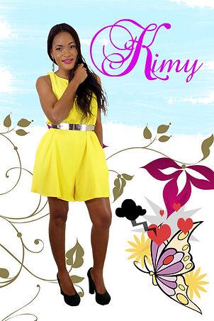 """Kimy: personnage principal de la série """"Aissa"""" joué par Eva Noushca"""