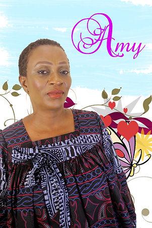 """Amy: personnage secondaire de la série """"Aissa"""" joué par Jeanne Ngo Ndap"""