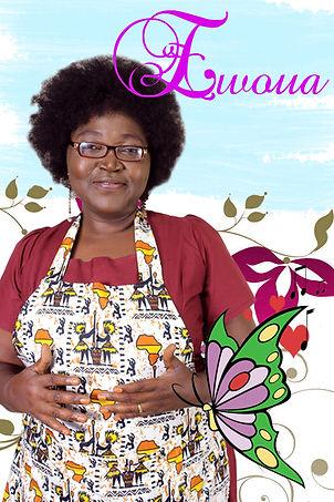 """Ewoua: personnage secondaire de la série """"Aissa"""" joué par Marie Noëlle Tucehe"""